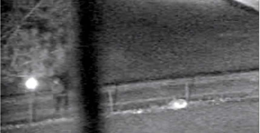 police surveillance video shooting