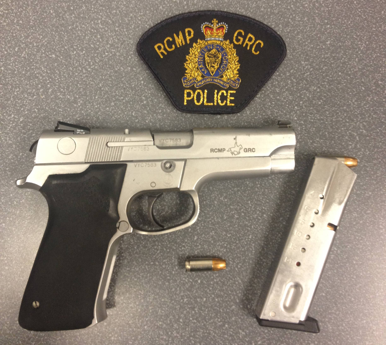 RCMP Gun Pistol S&W 5946