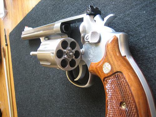 Canada Unloaded Gun Revolver