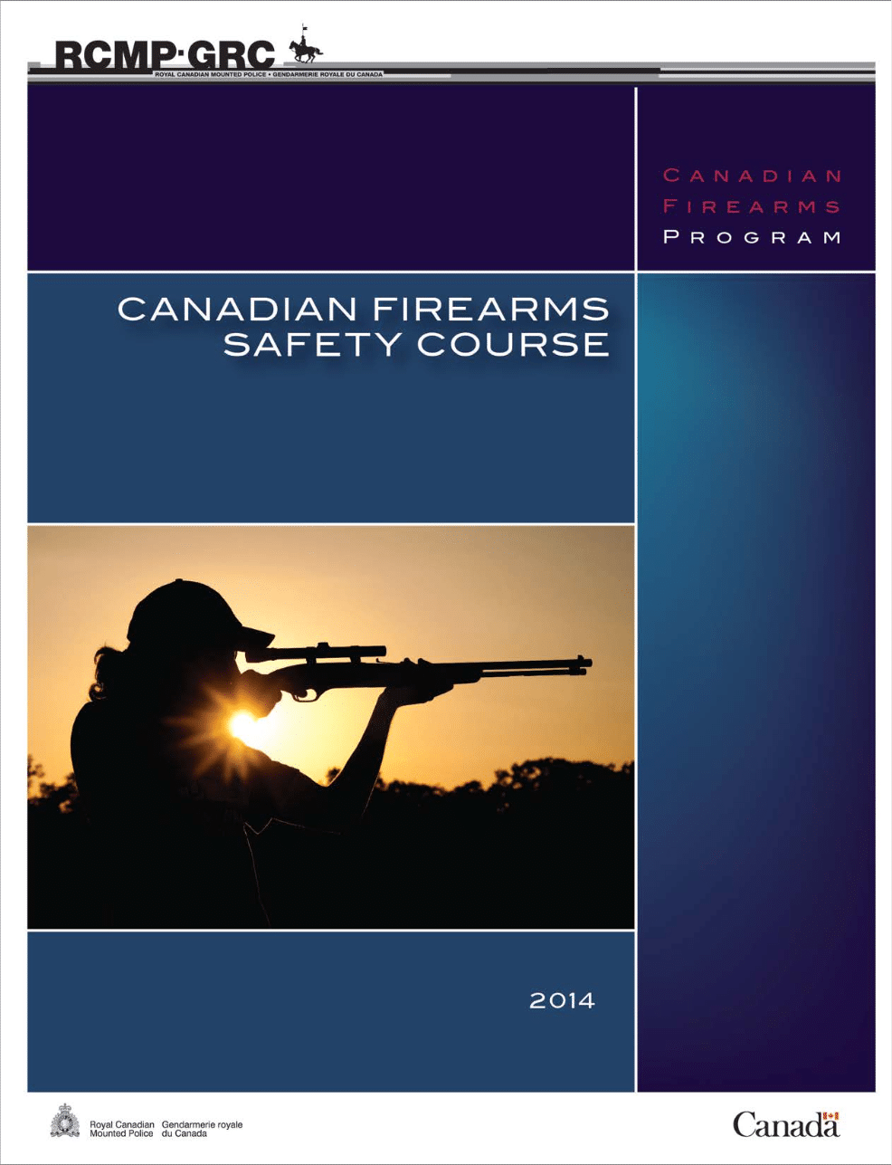 Canadian Firearms Safety Course student handbook