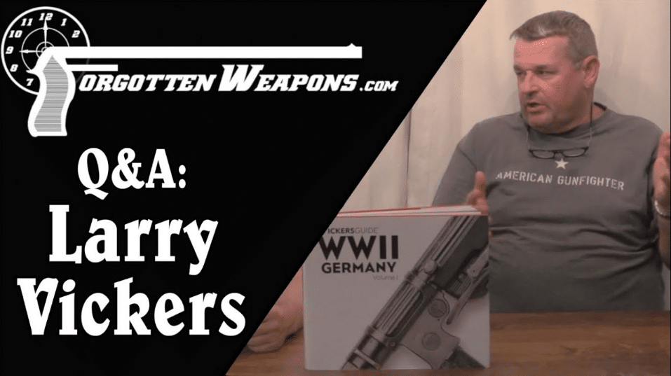 Larry Vickers Soft Spot for Canadian Guns Forgotten Weapons