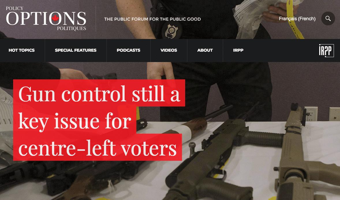 Liberals Gun Control Policy Options