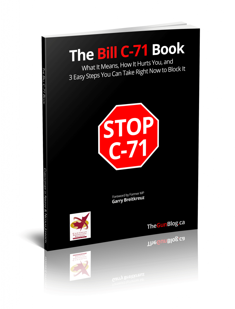 The Bill C-71 Book Cover Canada Firearms