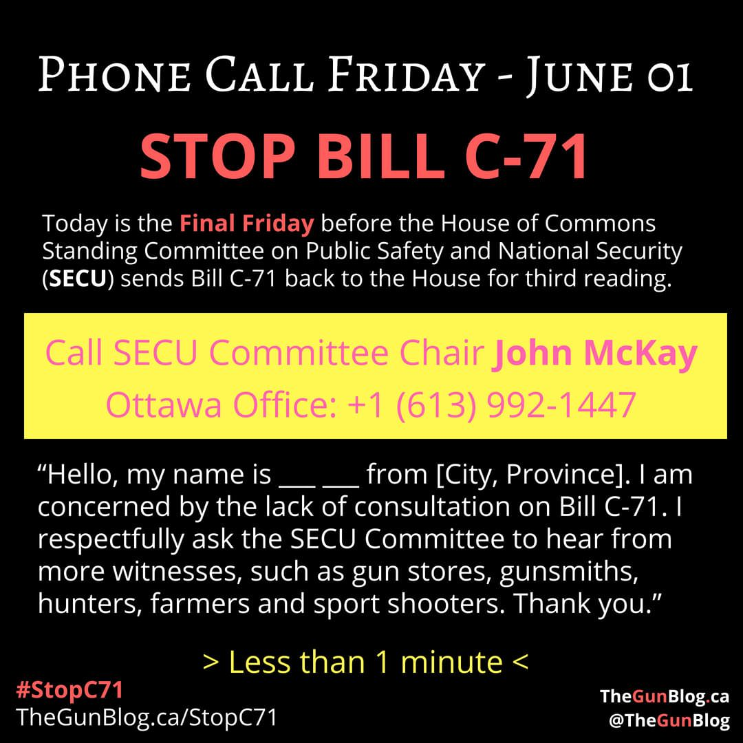 Phone Call Friday June 01 SECU John McKay