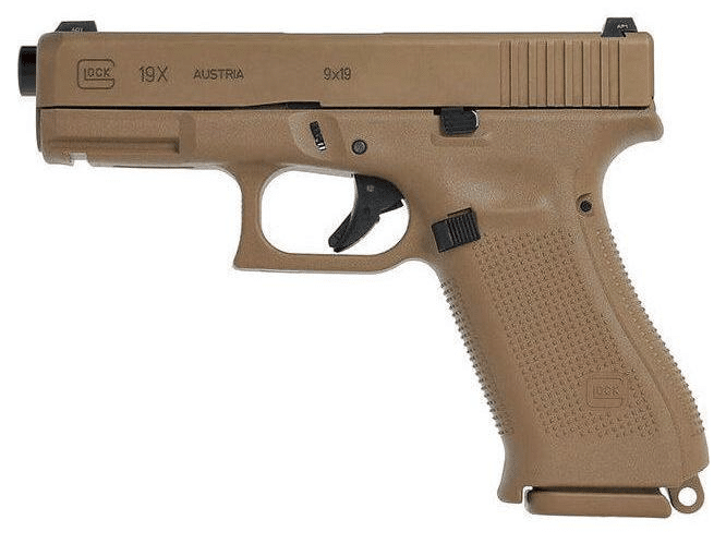 Glock Says New 19X Pistol Is Arriving in Canada Next Week