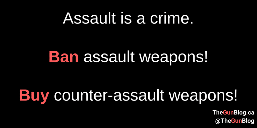 Counter-Assault Weapons