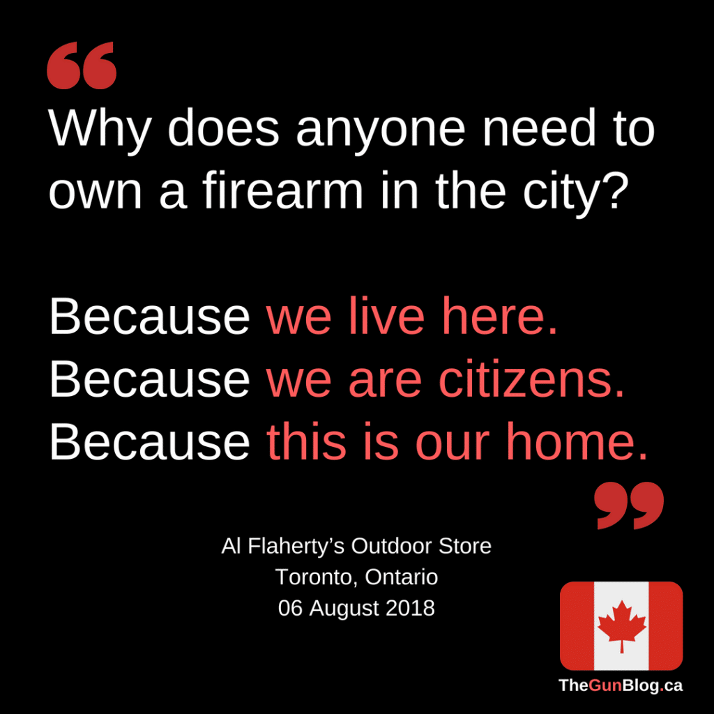 Why does anyone need to own a firearm in the city_ All Flaherty's