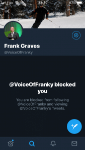 Frank Graves Blocked You