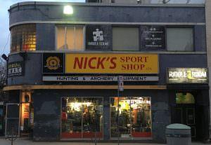Nick's Sports Shop