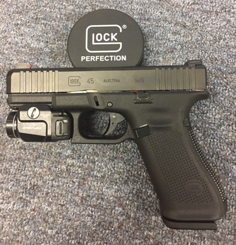 Glock 45 With Streamlight TLR-7