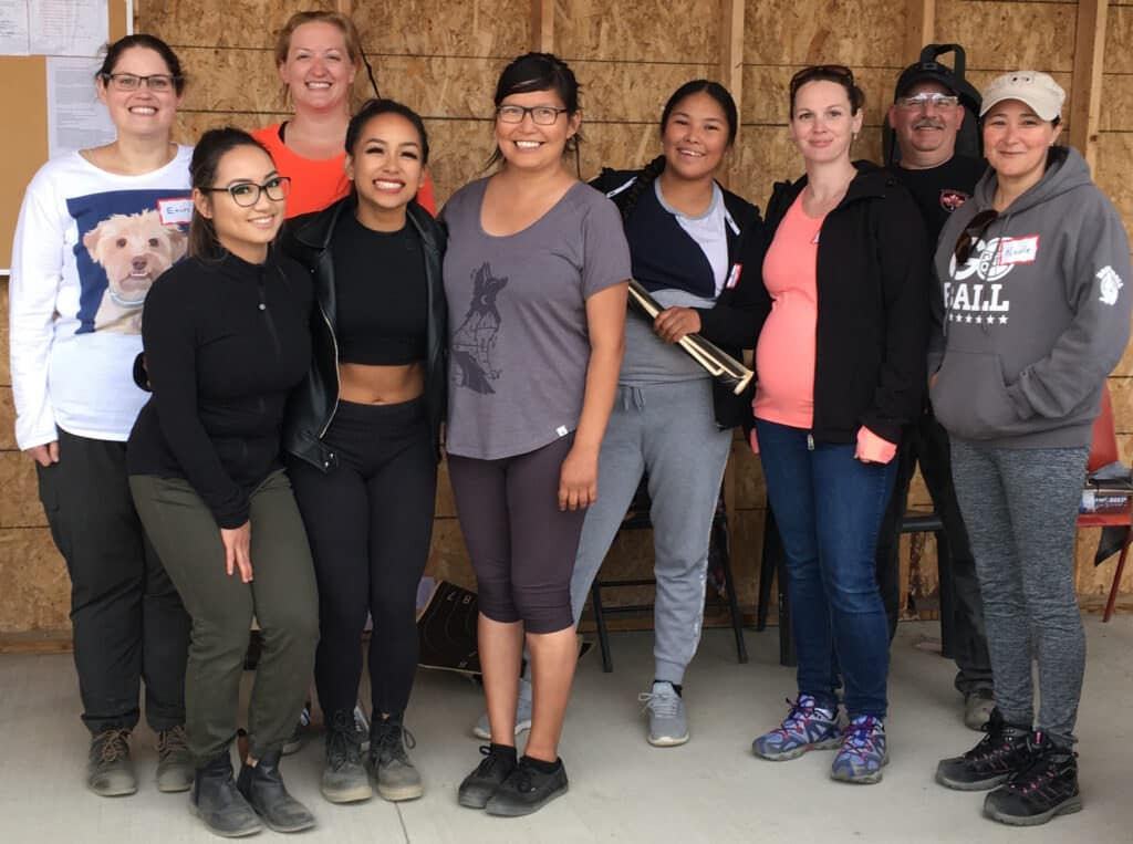 Yellowknife Shooting Club Hosts Ladies' Fun Shoot for Newbies