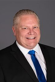 Doug Ford - Ontario Premier Ford Rejects Gun Bans, Toronto Sun Reports