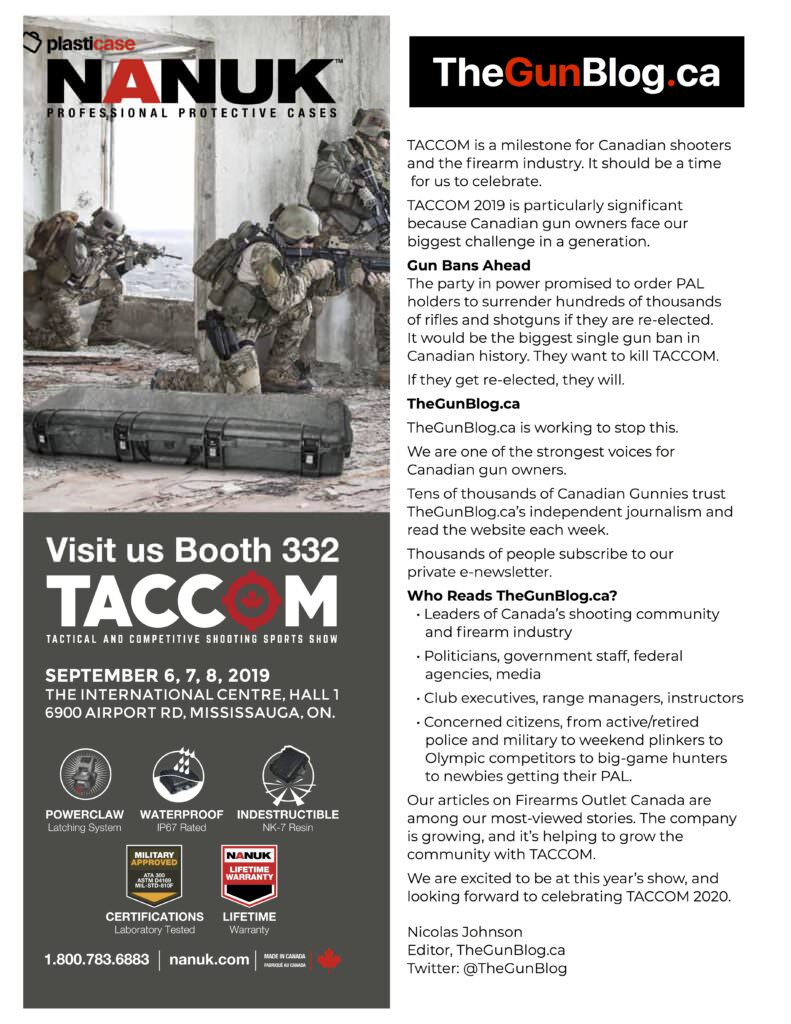 TACCOM: Visit Canada's Tactical & Competitive Shooting Show