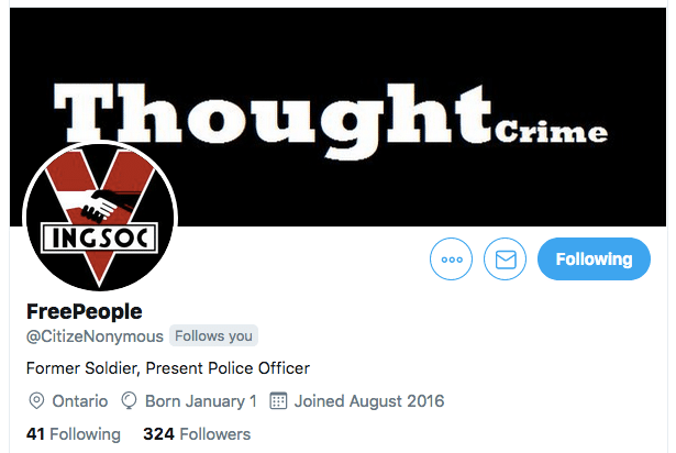 FreePeople Twitter Header - Police Officer Against Gun Confiscations Outlines Home Searches