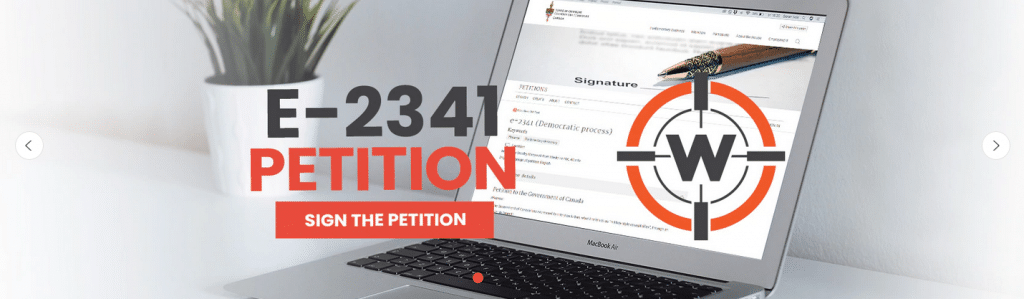 Petition to Stop Trudeau's Confiscation Order Surges to No. 1